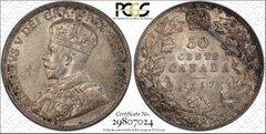 1917 Canada Half Dollar, PCGS 62