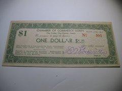 "1933 $1 ""Script"" Clay County CofC"
