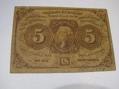 1862 5c FR1230 F
