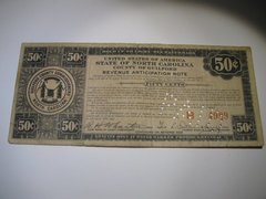 1933 50c Guilford Co. Tax Anticipation Note