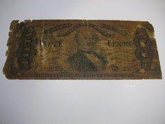 1863 50c Fr1339 scarce Fr2