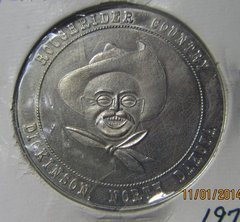 Dickinson ND 1972 Roughrider Country Festival Dollar