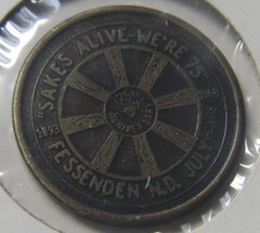 Fessenden ND 1968 75th Anniversary Half Dollar