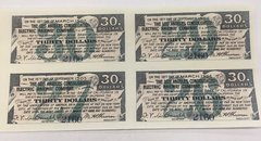 1892 Los Angeles Consolidated Electric Railway Company $30 Bond Interest Coupons Payable in Gold