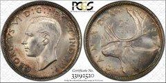 1937 Canada 25c PCGS63 eye appeal