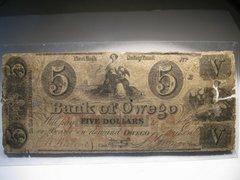 1861 $5 Bank of Owego