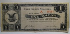 1933 $1 Joliet Clearing Association