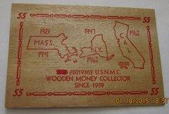 "1921 Thomas Brown Hudson"" Business Card "" great marketing"