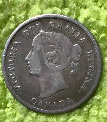 1870 Nice grade 1870 5c Silver