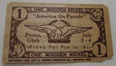 "1941 Provo, UT ""America on Parade"" 1 WN"