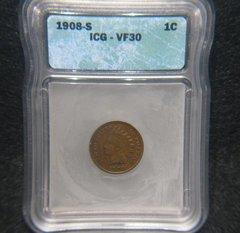 1908-S ICG VF30