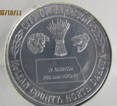 Garrison ND 1980 75th Anniversary Dollar Gem Condition