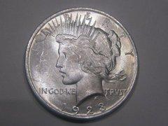 1923 Peace Dollar, MS64