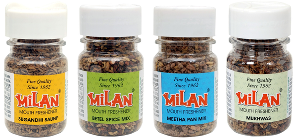 Milan Mouth Freshener - Assorted Pack of 4