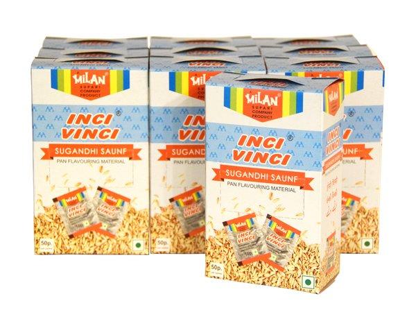 Inci Vinci Sugandhi Saunf 50s - Pack of 10