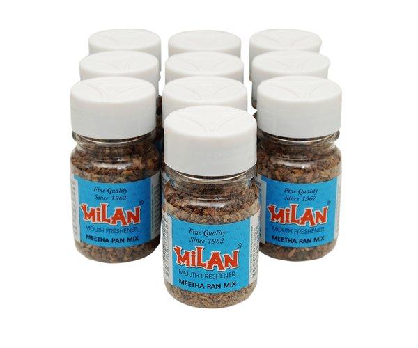 Milan Mouth Freshener MEETHA PAN MIX - Pack of 10