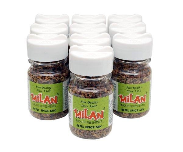 Milan Mouth Freshener BETEL SPICE MIX - Pack of 10