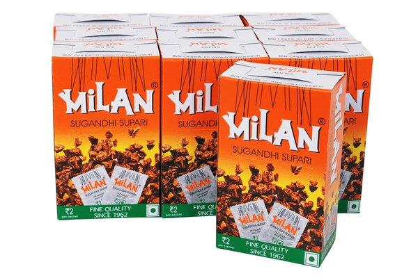 Milan Sugandhi Supari 50s - PACK OF TEN.