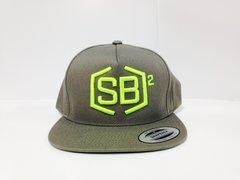Light Green on Gray Snapback