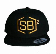 Gold on Black Snapback
