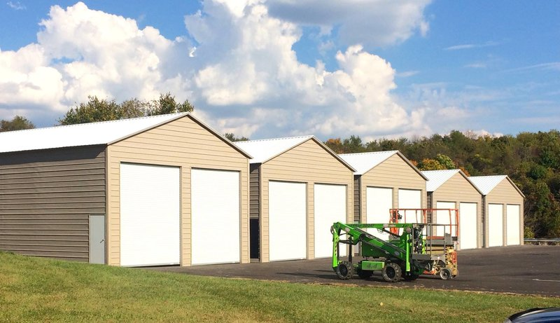 The building journal garages barns portable storage for 30 by 50 garage