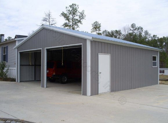 24x31x9 vertical roof style garage the building store for 14 foot tall garage door