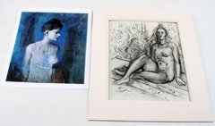 LOT OF 2 LITHO'S AND PRINT MATISSE AND PICASSO