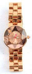 "LADIES ROSE GOLD PLATED ""BETSEY JOHNSON"" WATCH"