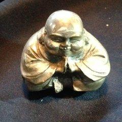 Chinese Silver Buddha 1 (one)