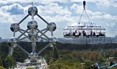 Dinner In The Sky for You & 29 Friends or Associates! Unbelievable!
