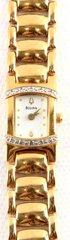 LADIES BULOVA WATCH 98674 QUARTZ WITH DIAMONDS