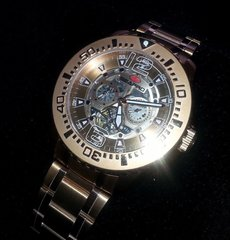 New SEAPRO Men's High End Luxury Wristwatch Rose Gold Exceptional!