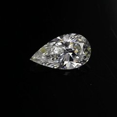 SOLD - GIA Certified Sl1 D Brilliant .0.35 Carat White Pear Diamond