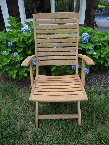 Hampton Bay Teak Folding Chair Choice Of Side Or Arm