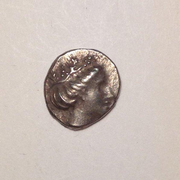 Euboia Histiaia AR Tetrobol 340-330 BC