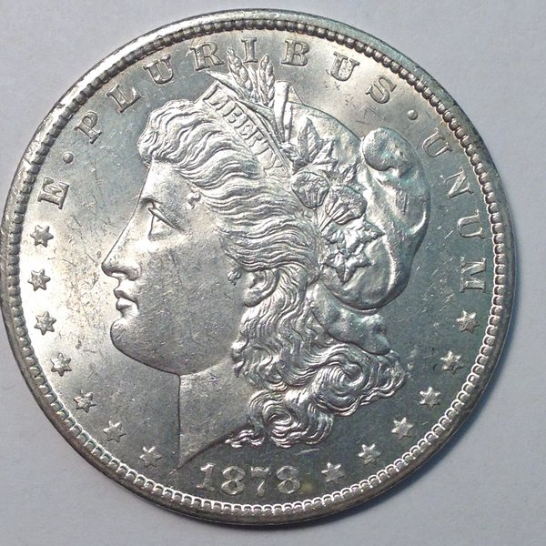 1878-CC Morgan Dollar MS63