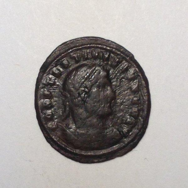 Constatine II AE3 AD 317-337 Laureate, draped & cuirassed