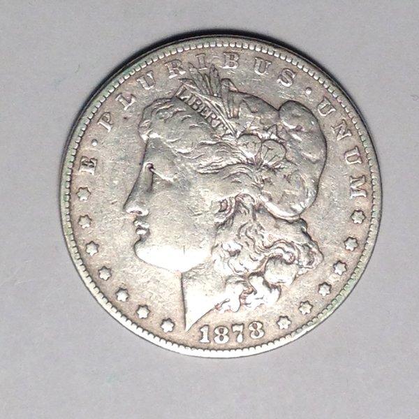 1878-1921 Morgan Silver Dollars VG-XF