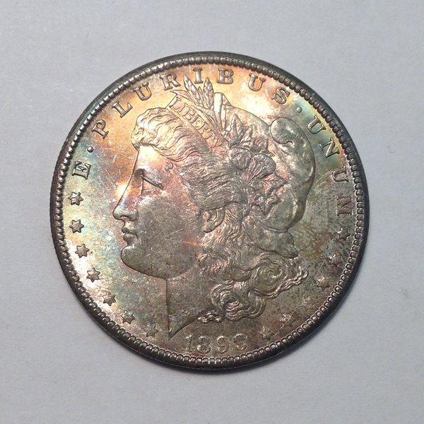 1899-O Morgan Dollar MS63