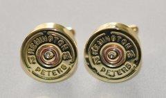 Rare Vintage Remington Peters 12 Gauge Shotgun Shell Bullet Cufflinks Custom Made in the USA