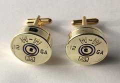Vintage Winchester Western AA 12 Gauge Shotgun Shell Bullet Cufflinks Custom Made in the USA Circa 1970's