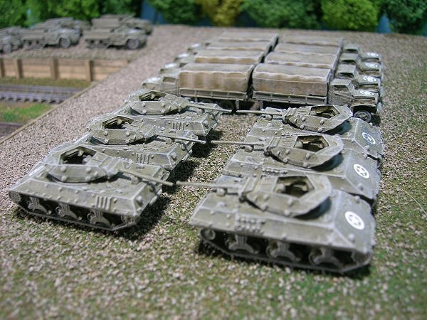US Army M10 Wolverine Tank Destroyer