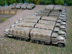 US Army 2 1/2 Ton 6x6 Cargo Truck, GMC CCKW