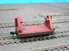 N Scale Mill Car w/ Ladle Cradle