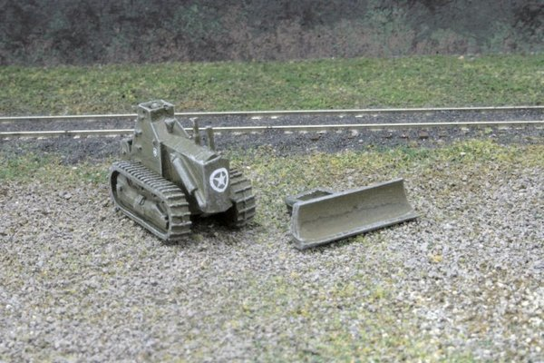 US Army Combat Bulldozer