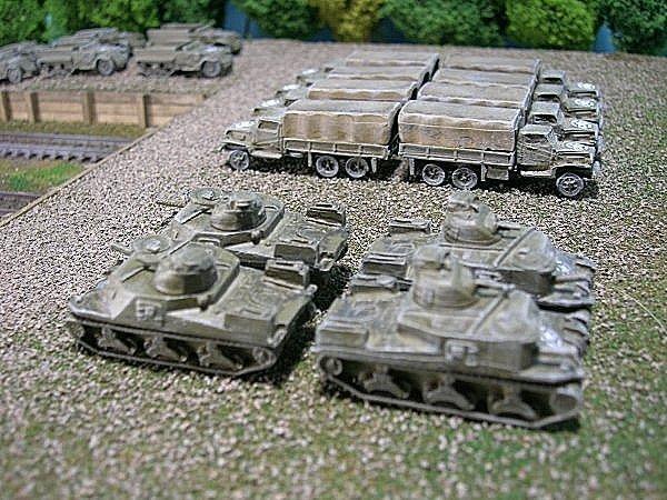 US Army M3 Lee Medium Tank