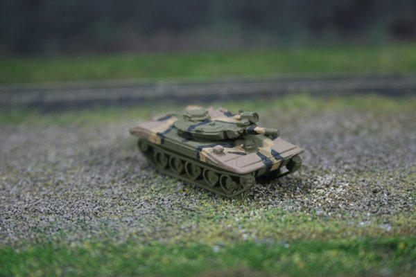 US Army M551 Sheridan Armored Reconaissance/Airborne Assault Vehicle, Woodland Camouflage