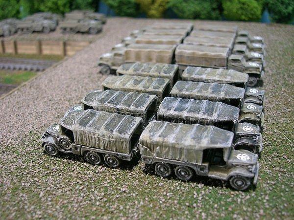 US Army 1 1/2 Ton 6x6 Cargo Truck, Dodge WC63