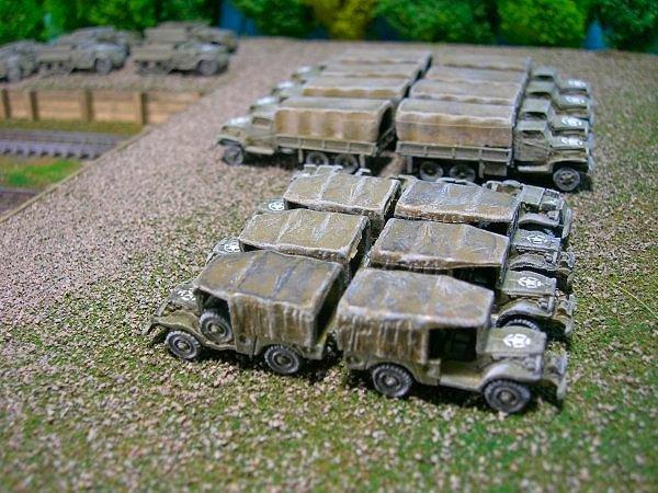 US Army 3/4 Ton 4x4 Cargo Truck, Dodge WC52