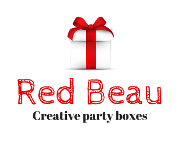 Red Beau creative party boxes
